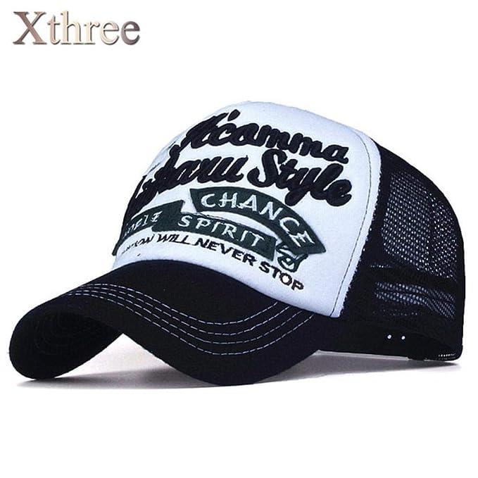 420ed5da17a Baseball Cap 5 Panels Embroidery Summer Baseball Cap Casual mush Cap Men  Snapback hat for Women