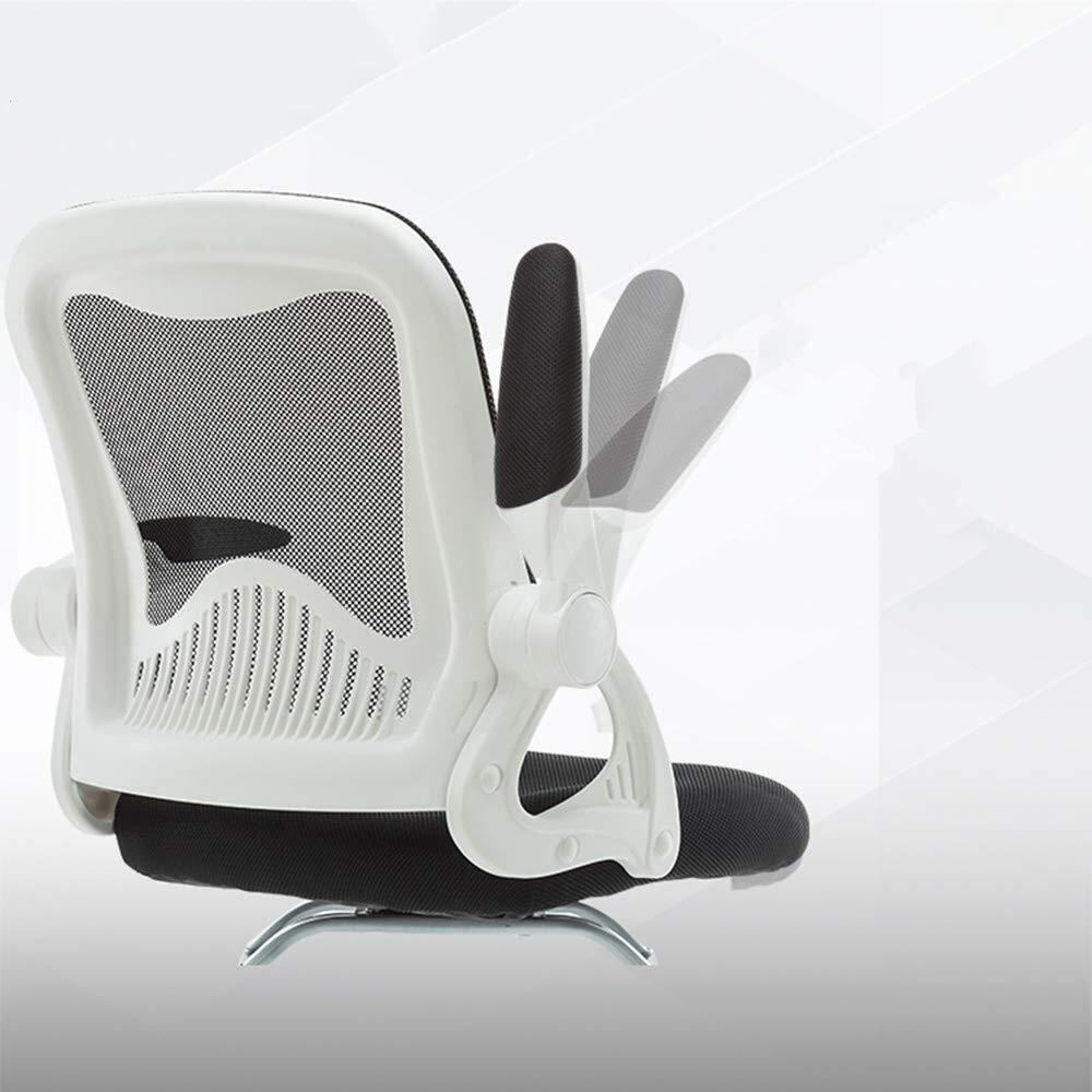 XKKD stol hem kontor stol roterande räcke andas nät lager vikt 200 kg (färg: Lila) Orange