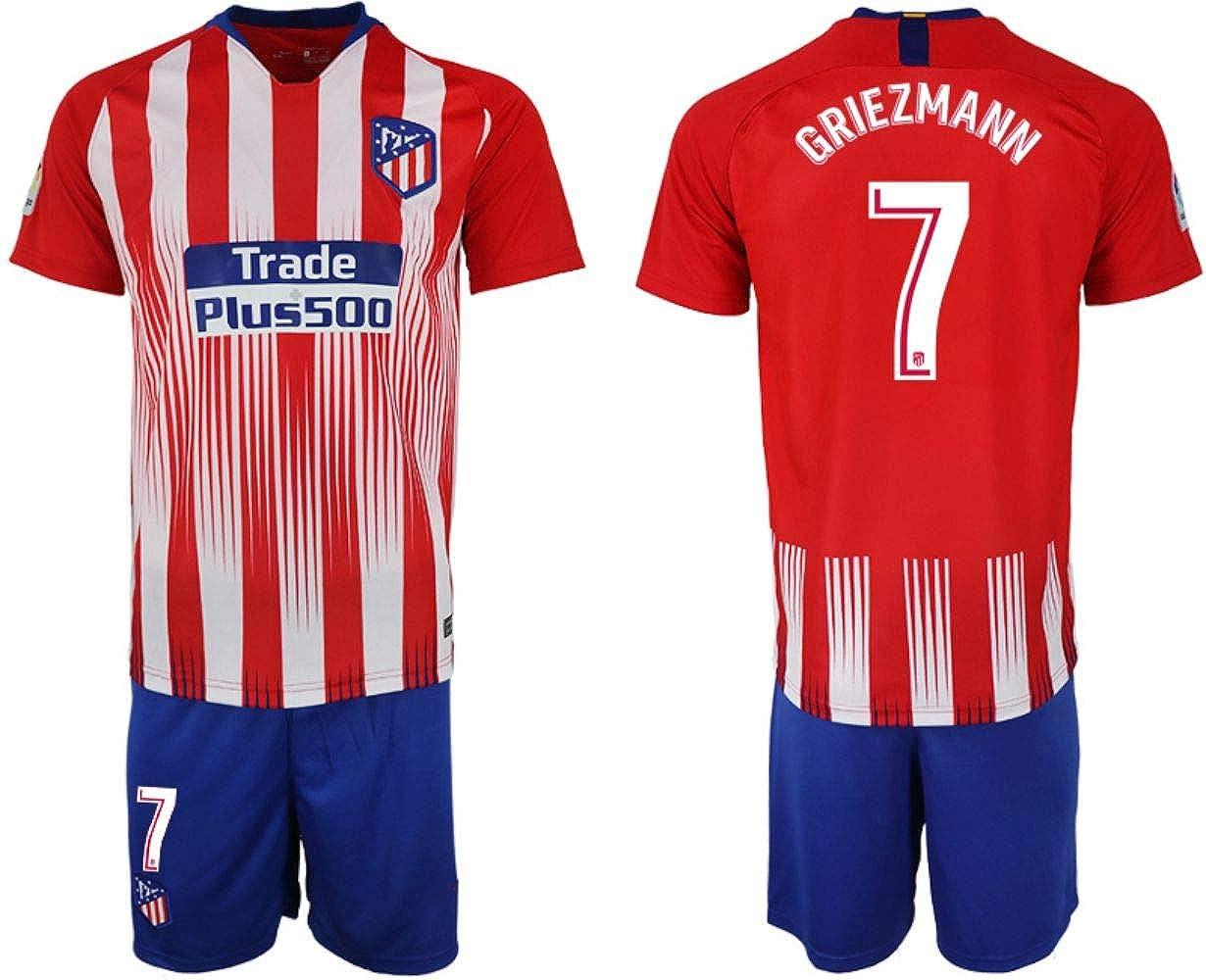 2018-2019 New Club Atlético de Madrid S.A.D Griezmann Kid's Soccer Jersey