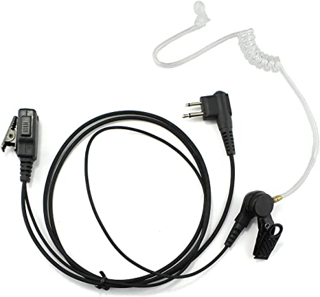 Acoustic Tube Ear-piece Mic Headset MOTOROLA CLS-1110 CLS-1410 CP200 GP-68 GP350
