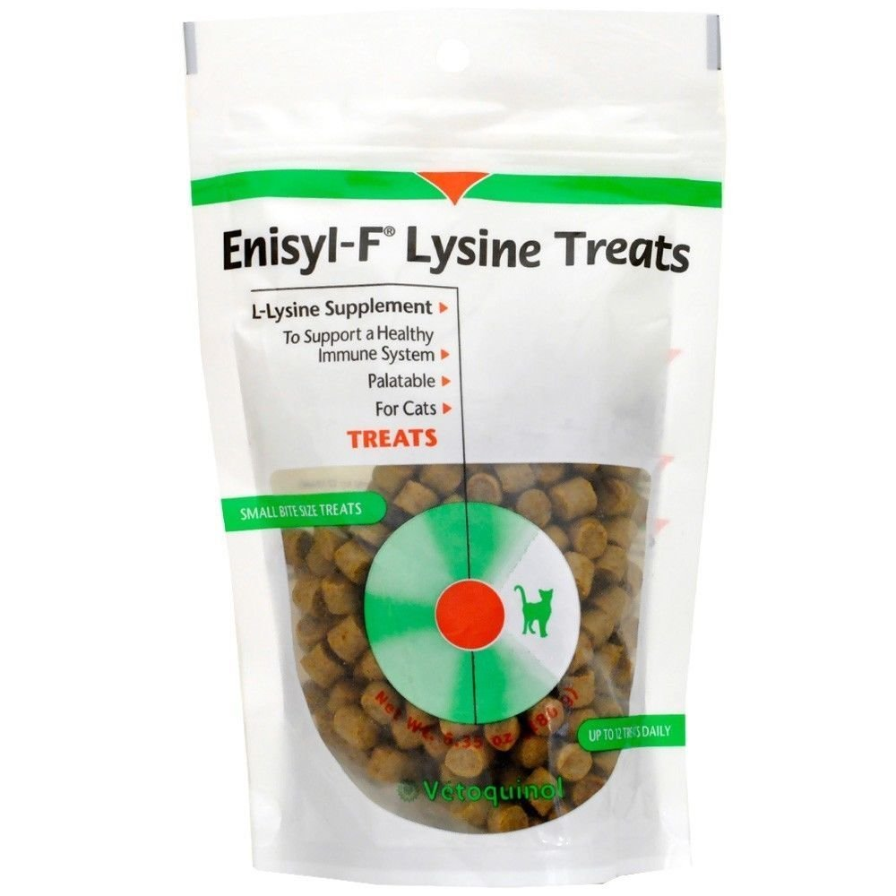Enisyl-F Lysine Treats for Cats and Kittens 180 gram