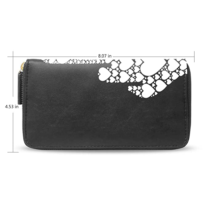 82f25464de54 Women Wallet Purse Middle Finger Vector Icon Made From Small Heart ...