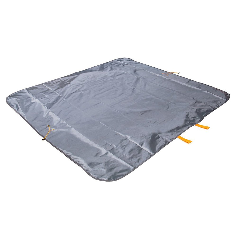 Sysmarts Picnic Blanket, Outdoor Waterproof Picnic Mat Multifunctional Foldable Lightweight Large Bag for Outdoor,Travel,Mountaineering,Beach,Camping 57'' x 57'' (Grey)