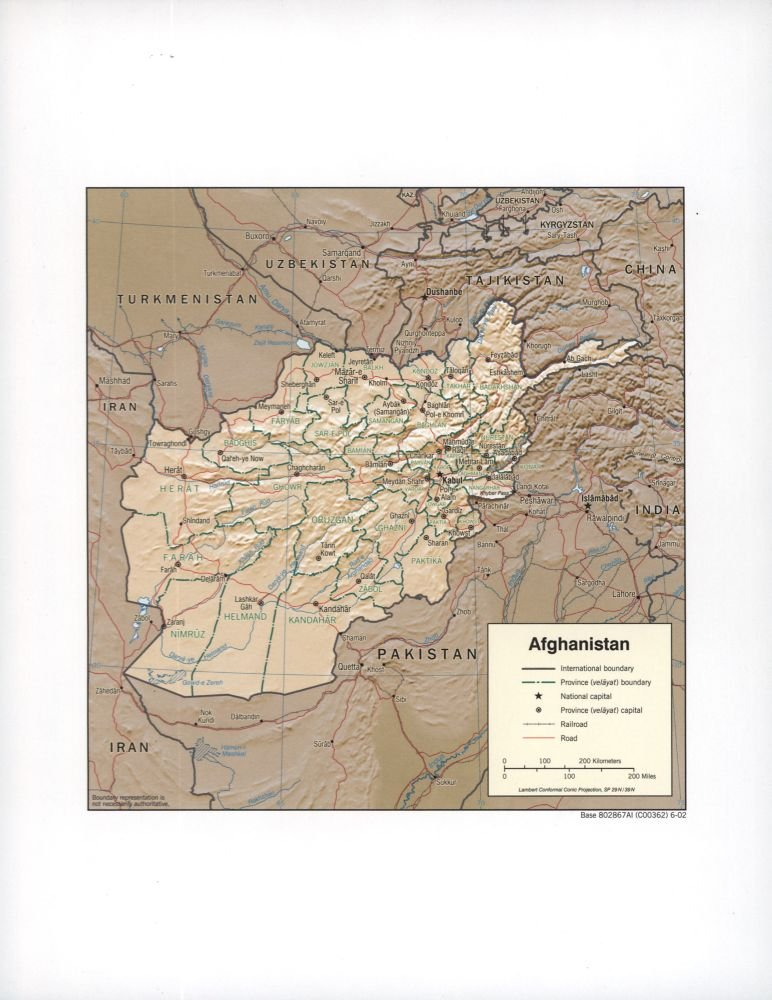 Amazon Com Vintage 1897 Map Of Map Of Persia Afghanistan And