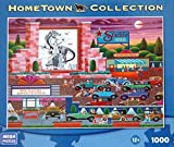 HOMETOWN COLLECTION Drive In Theater 1000 Piece Puzzle