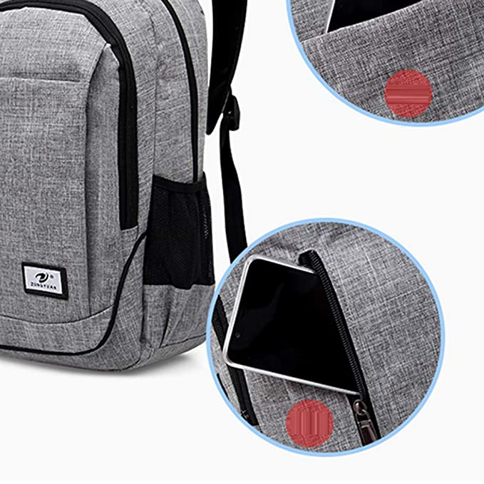Amazon.com | Slim Business Laptop Backpack Elegant Casual Outdoor Sports Rucksack Shoulder Bag for Men Women, Tear Resistant Unique Travelling Backpack Fits ...