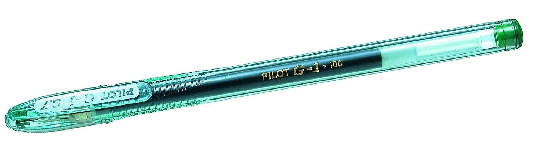 Pilot - Verde Pen - Pilot Paquete de 12 bolígrafos de tinta gel, verde 8f632d
