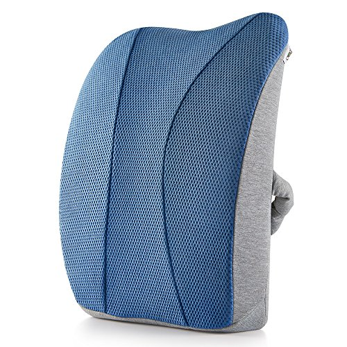 Jiaao-Large-Lumbar-Support-Memory-Foam-Pillow-Orthopedic-Design-Relieves-Lower-Back-Pain-Back-Cushion-for-Car-Office-Chairs-Breathable-Cover-Adjustable-Strap-Light-Blue