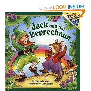Jack and the Leprechaun (Pictureback(R)) Ivan Robertson and Katy Bratun