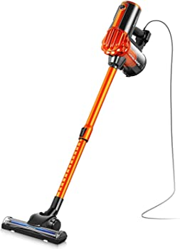 7. iwoly V600 Corded Bagless Stick and Handheld Vacuum