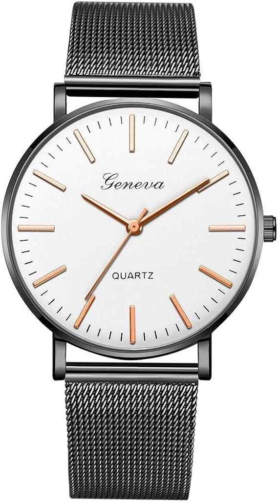 2020 Ultra flach Herren Damen UhrenArmbanduhr 40mm mit Mesh
