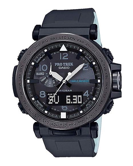 Casio Reloj Analógico-Digital para Hombre de Energía Solar con Correa en Plástico PRG-