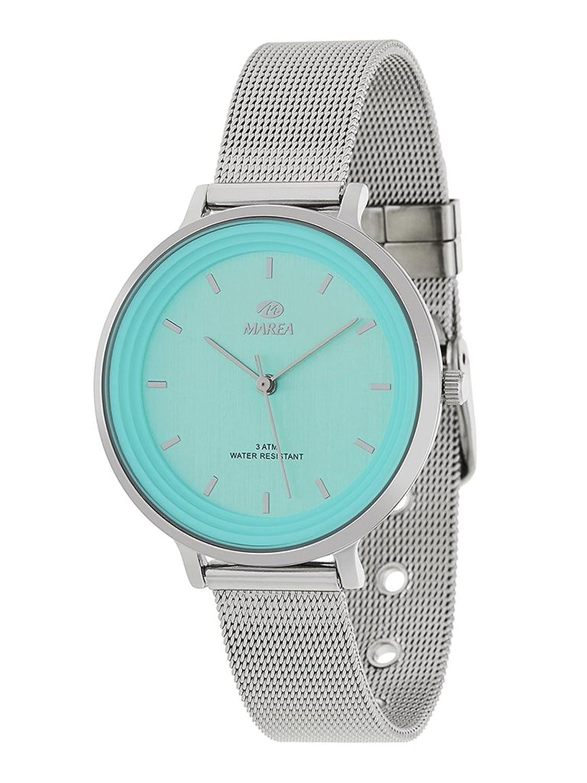 16818001294c Reloj Marea Mujer B41197 7 Esterilla Azul  Amazon.es  Relojes