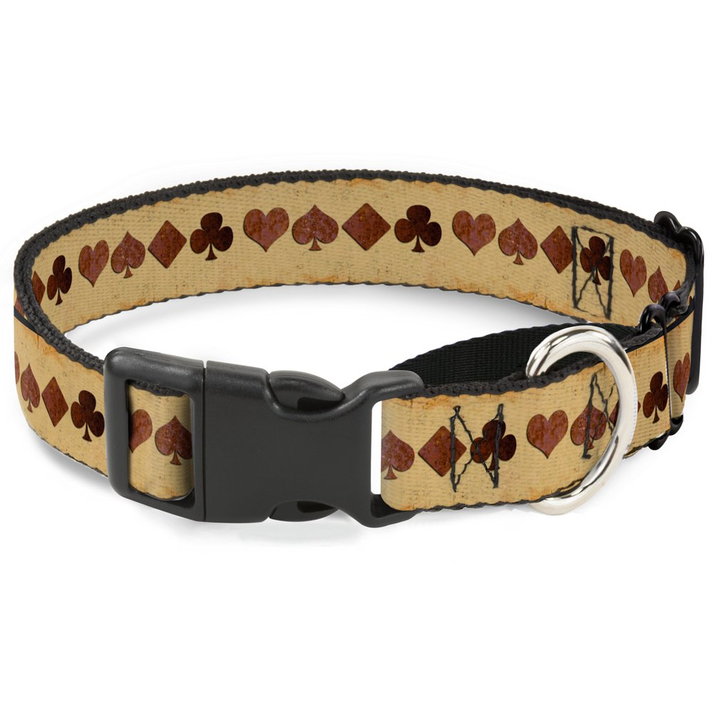Buckle-Down MGC-W31978-M Suits Brown Stone Martingale Dog Collar, Medium
