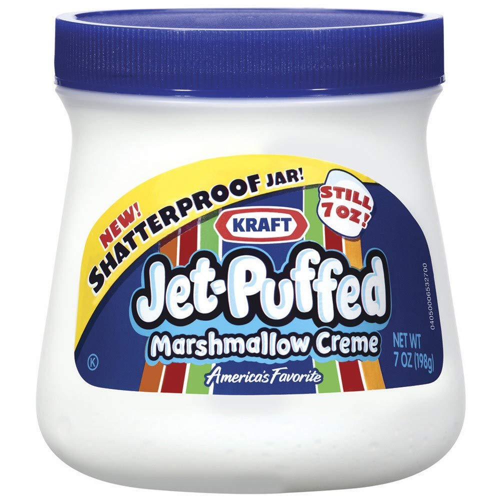 Kraft Jet-Puffed MARSHMALLOW CREME (Pack of 36)