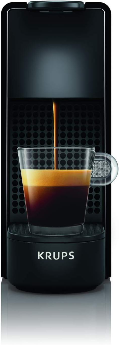 Nespresso Krups Essenza Mini - Cafetera monodosis de cápsulas (Reacondicionado) (Negro): Amazon.es: Hogar