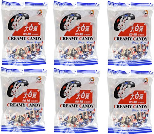 (White Rabbit Creamy Candy 6.3 Oz (180 Gram) (Pack of 6))