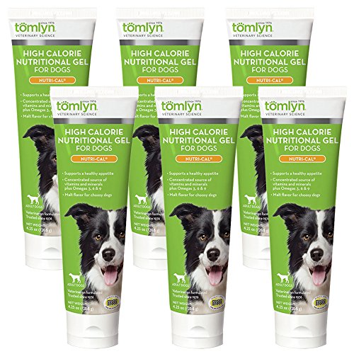 Tomlyn Nutri Cal Puppy - 6-Pack Nutri-Cal High Calorie Dietary Supplement, 4.25-Ounce Tube