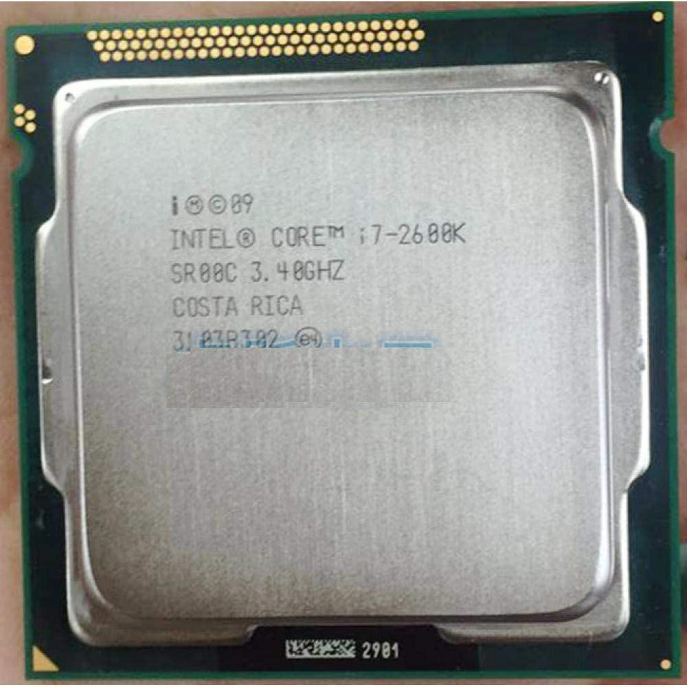 Original Intel Core I7 2600K 8M 3.4G 95W Quad Core Processor 5GT//s SR00C LGA 1155 Socket I7-2600K Working 100/%