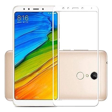 Johra Full Body Tempered Glass Screen Protector for Xiaomi Mi Redmi Note 5  White  Maintenance, Upkeep   Repairs
