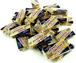Loucks Sezme Sesame Snaps, 1.4 oz Packages in a BlackTie Box (Pack of 24)