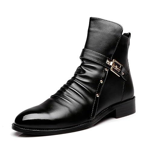 Botas para Hombre Martin Boots Boots Botines para Hombres Zapatos Casual para Hombres: Amazon.es: Zapatos y complementos