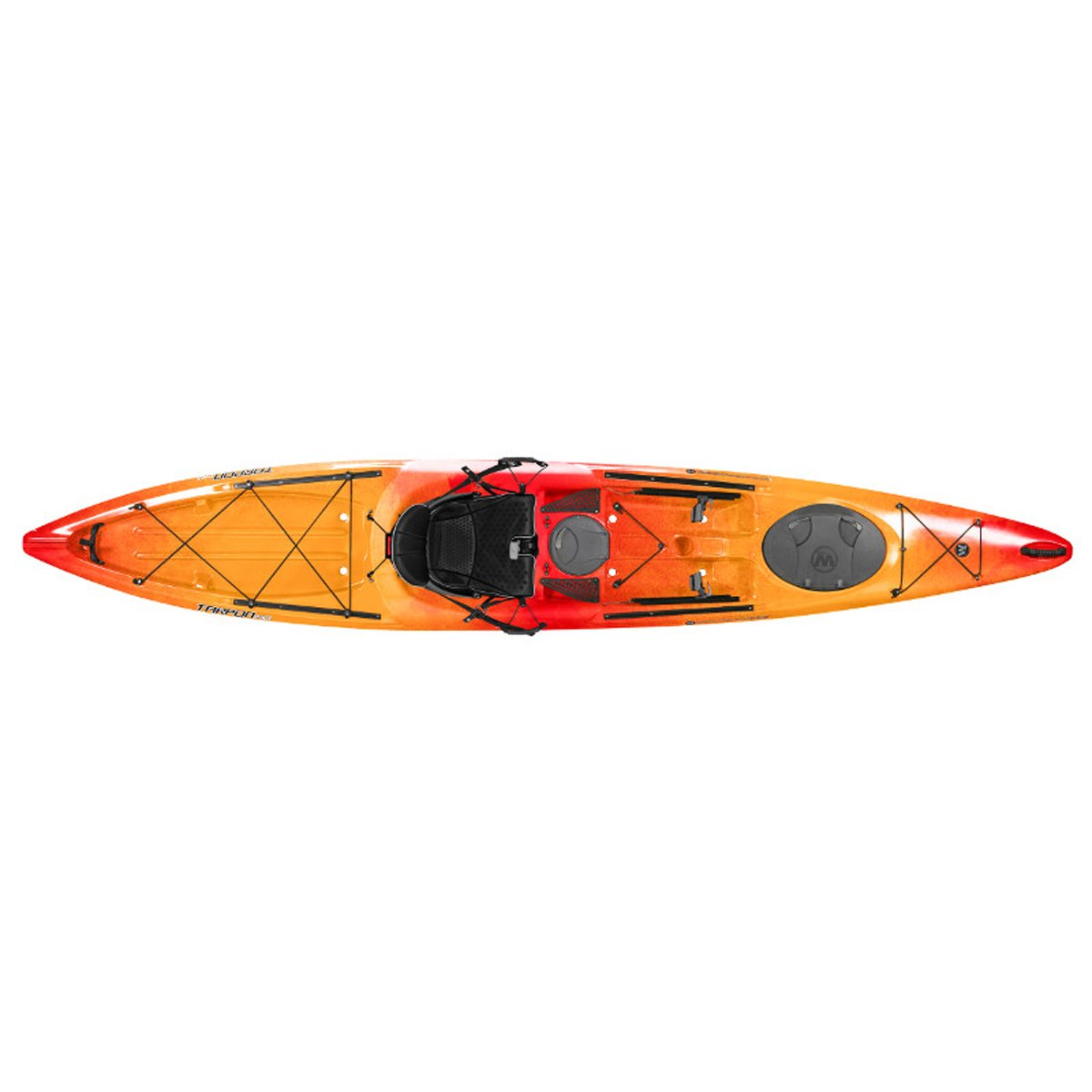 Wilderness Systems 9750405054 Tarpon 140 Kayaks, Mango, 14' by Wilderness Systems