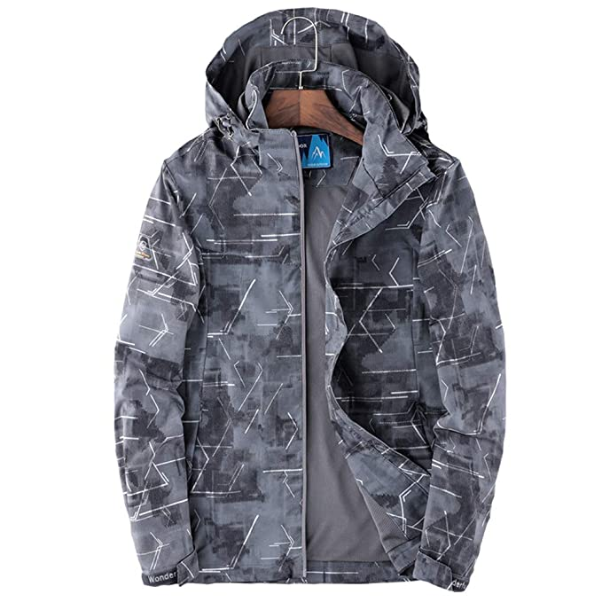 XINYANG Jacket Chaqueta Impermeable Hombre y Mujer Nailon ...