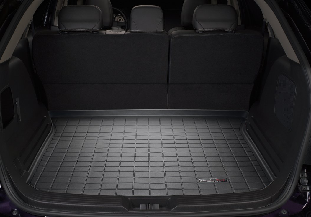 Amazon Com Weathertech Custom Fit Cargo Liners For Ford Edge Black Automotive