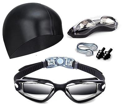 86a7b43a1bdb Amazon.com   Hurdilen Swim Goggles