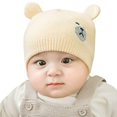 98597c4c6c41 DORRISO Fashion Spring Newborn Cute Small Bear Caps Spring Winter ...