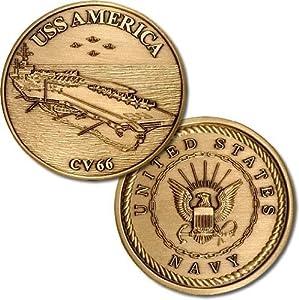 USS America Challenge Coin