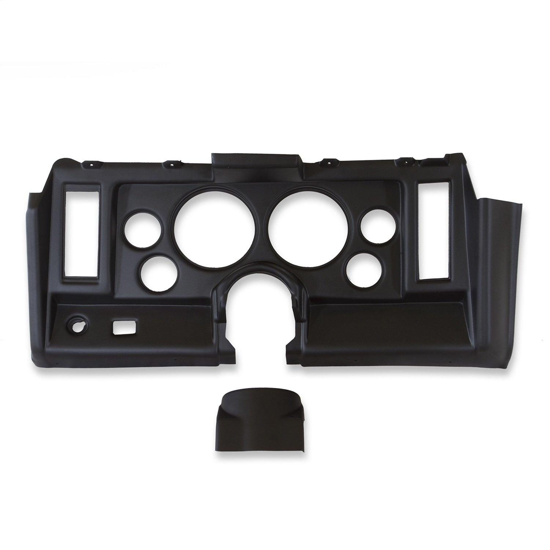 AutoMeter 7021-DB Designer Black Dash Panel Kit 6 pc Tach/MPH/Fuel/OilP/WTMP/Volt 8K RPM/160 MPH/100 PSI 100-250 F/8-18V/0E-90F Ohms Designer Black Dash Panel Kit