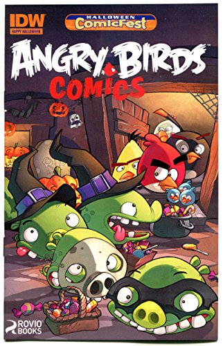 ANGRY BIRDS Halloween ashcan, Promo, 2014, NM, more IDW in (Halloween Comics Angry Birds)