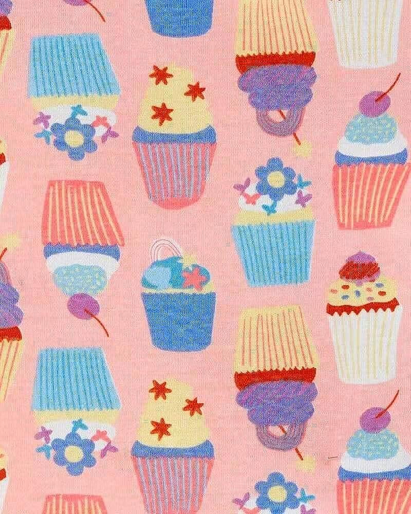 Carters Toddler and Baby Girls 4 Piece Cotton Pajama Set