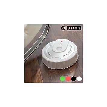 Omnidomo-Ubot-Robot Mopa, 40 Paños de Microfibra, Redireccionamiento, A Pilas (4 x AA), Color Blanco, 26 x 7 cm: Amazon.es: Hogar