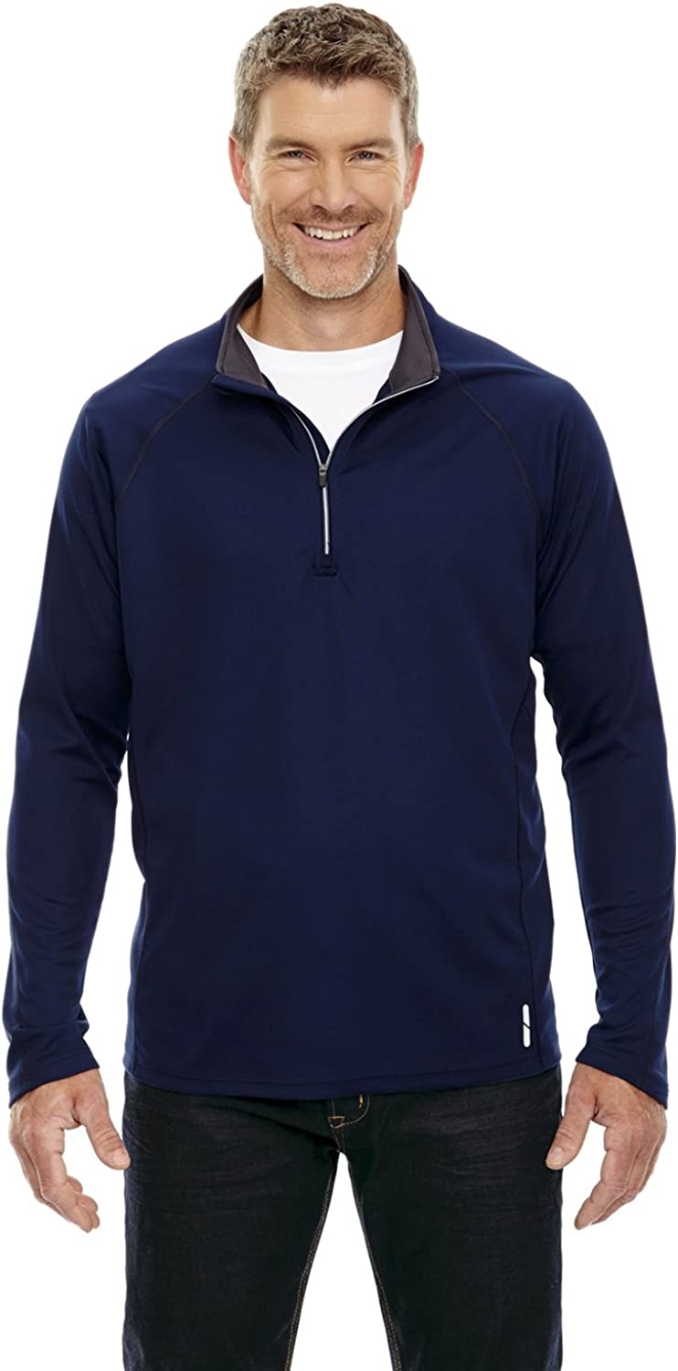 North End Radar Men's Half-Zip Performance Top