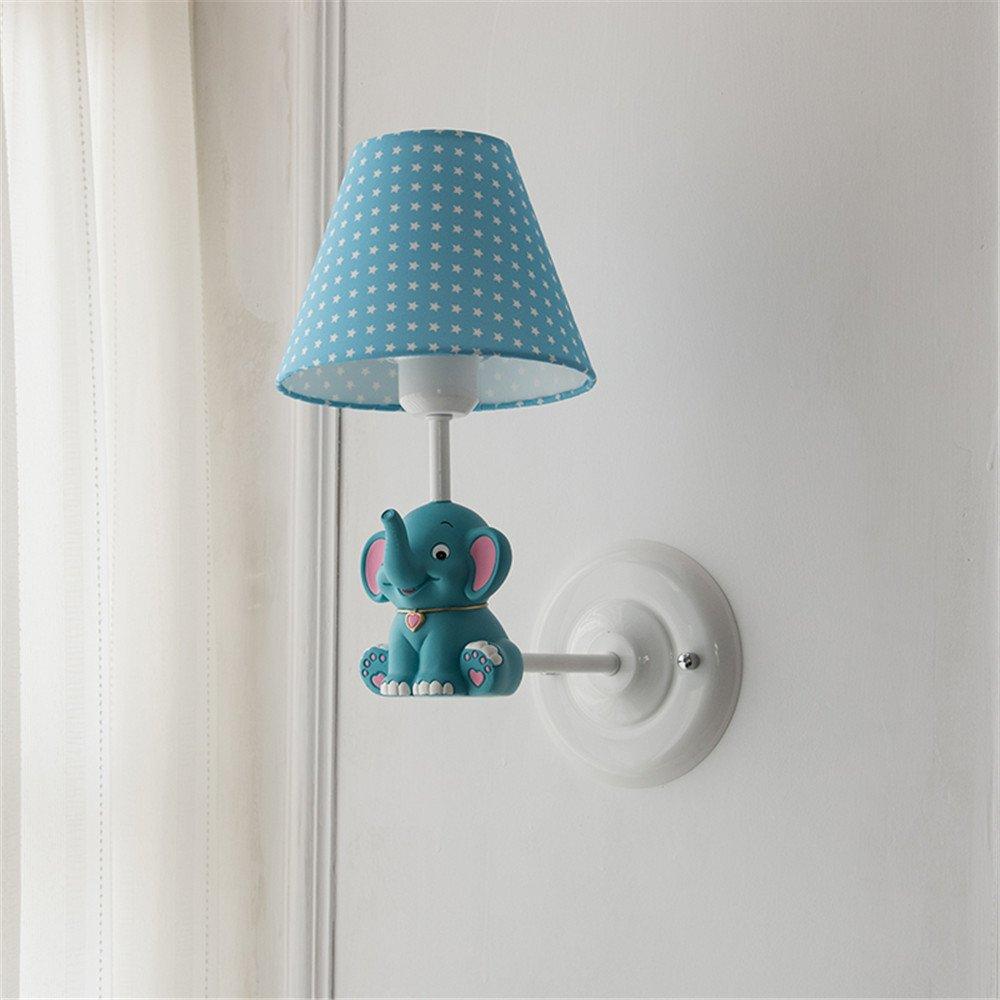 Lampada da parete Semplice scala moderna creativa atmosfera salotto camera da letto lampada lato corridoio corridoio Piccoli come lampade da parete i ragazzi e le ragazze dei bambini le luci in camera