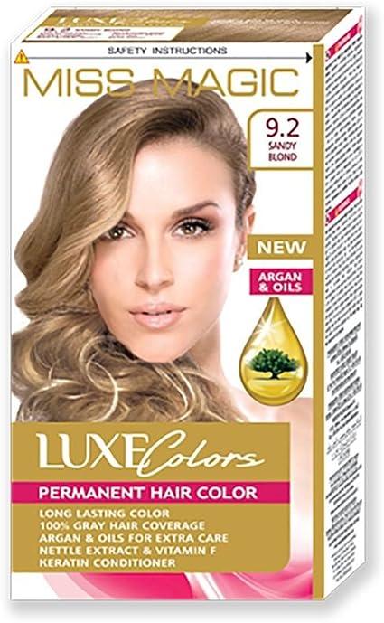Tinta para pelo Miss Magic Tinte Rubio arena Hair Colour con ...