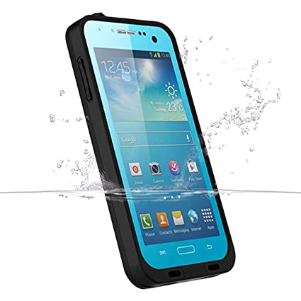 Galaxy S4 Waterproof Case, iThrough Underwwater, Dust Proof, Snow Proof, Shock Proof Case with Touched Screen, Heavy Duty Protective Carrying Cover ...