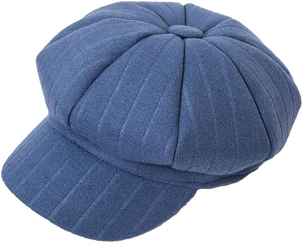 Winter Stripe Beret Hat...