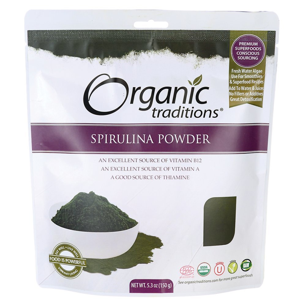 Spirulina Powder 5.3 Ounce (150 grams) Pkg