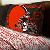 NFL Cleveland Browns Bed Sheet Set Football Team Anthem Bedding Accessories