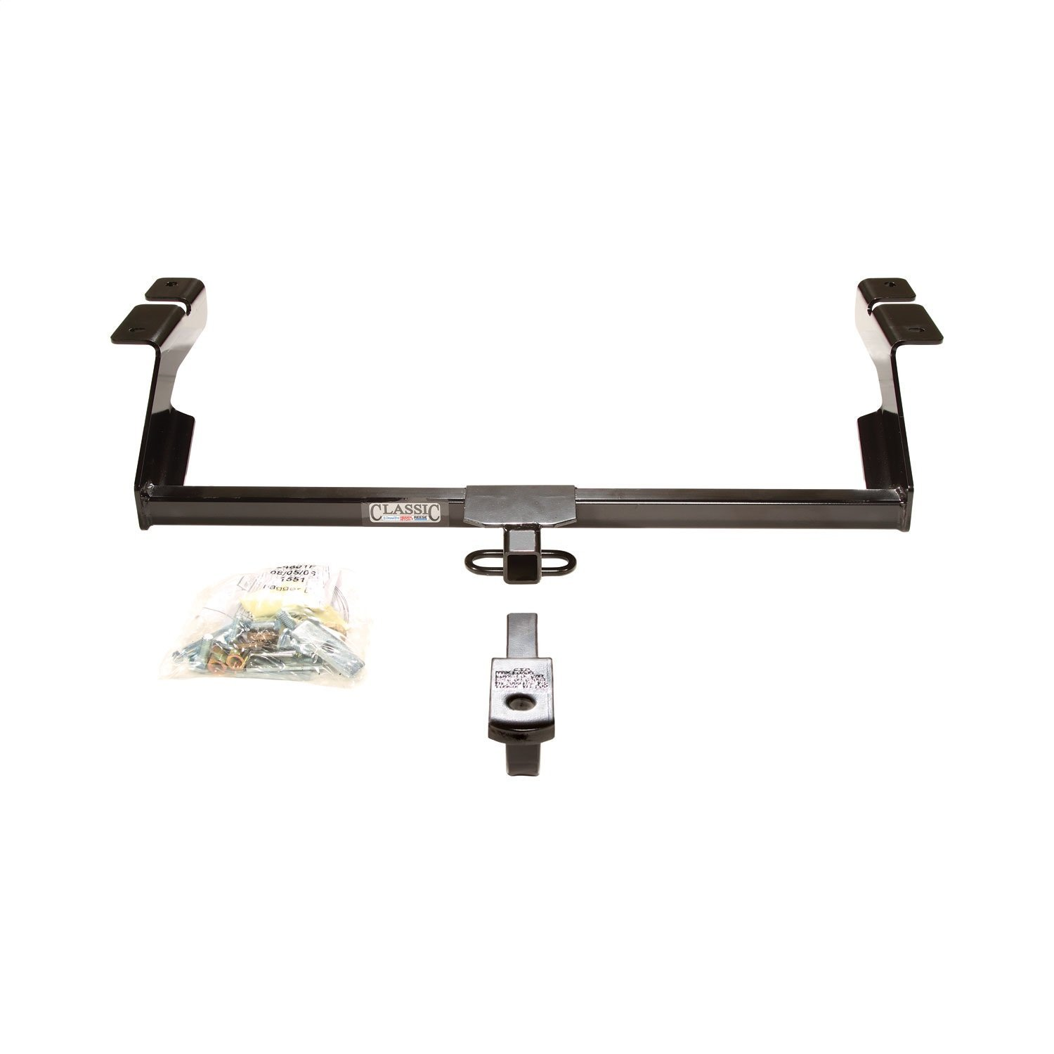 DRAW TITE 24801 Class I Sportframe Hitch with 1-1//4 Square Receiver Tube Opening Draw-Tite