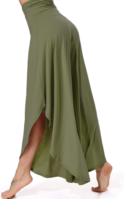 FITTOO Pantalones Profesionales De Yoga Sueltos Cintura Alta Mujer Pantalones Largos Deportivos Suaves y C/ómodos 740750760