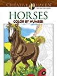 Creative Haven Horses Color by Number...