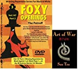 Foxy Chess Openings V147: Winning Repertoire for Black with 1.e4 e5 (Part 2) & ChessCentral's Art of War E-Book (2 Item Bundle)
