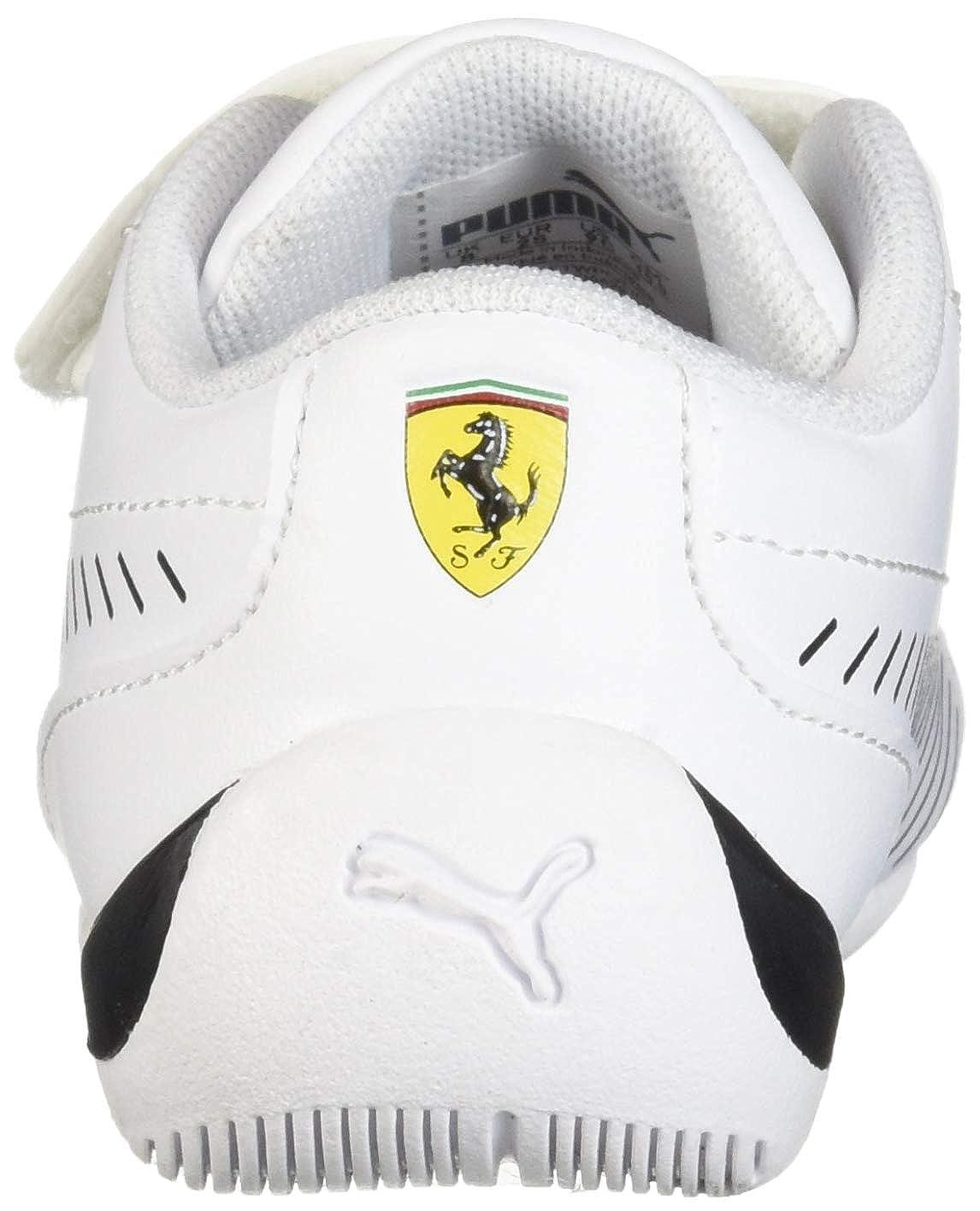 PUMA Unisex-Kids Ferrari Drift Cat 7s Ultra Sneaker