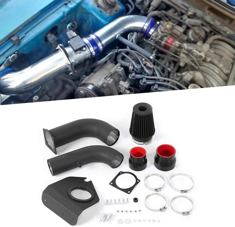 EBTOOLS Performance-Lufteinlass-Kit Lufteinlass-Kit Auto-Luftfilterschl/äuche Klemmensatz-Modifikation Passend f/ür Mustang-Basismodell mit 3,8-l-V6-Motor 1994-1998