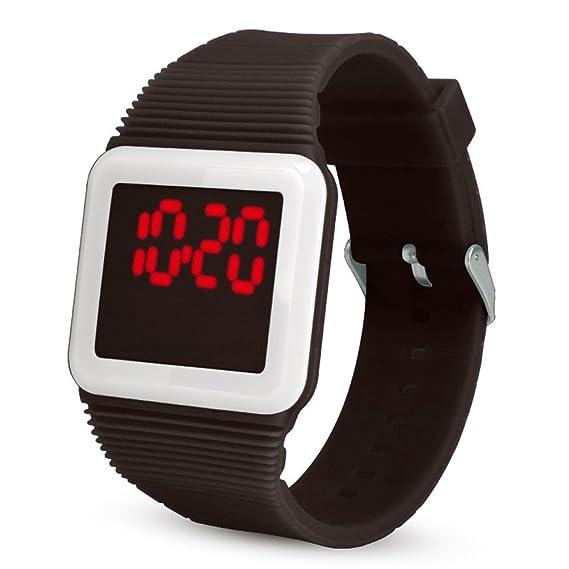Mostfa Relojes Electrónico Digital LED Silicona Reloj Pulsera Pulsera para Moda Más Cómodo: MOSTFA: Amazon.es: Relojes